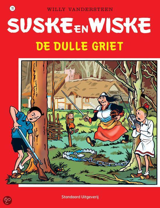78 - Suske en Wiske - De dulle griet
