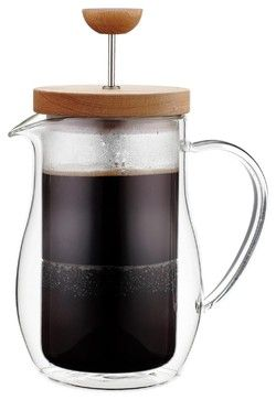 Double-Walled Glass French Press - Scandinavian - French Presses - by The Modern Kitchen
