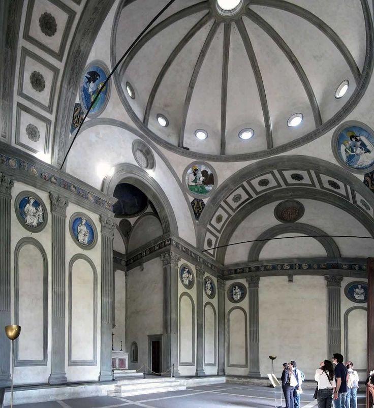 Kaplica Pazzich (z medalionami Andrea della Robia)