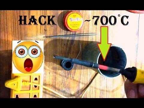If your soldering iron takes a lot of time to get heated up & still its not enough to make proper solder joints then this video is really gonna help you.Soldering iron hack.Do not leave it on for longer times.  SUBSCRIBE   - https://www.youtube.com/creativElectron7M?sub_confirmation=1 Top Videos    - https://goo.gl/yxiujO ebay purchase - https://goo.gl/1ZpjyW Instructables - https://goo.gl/wF62YT Buy online      -https://goo.gl/5Sz5EZ