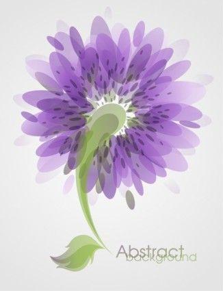 Fundo abstrato da arte da flor do vetor