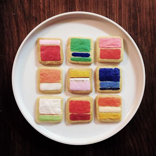 Mark Rothko Cookies