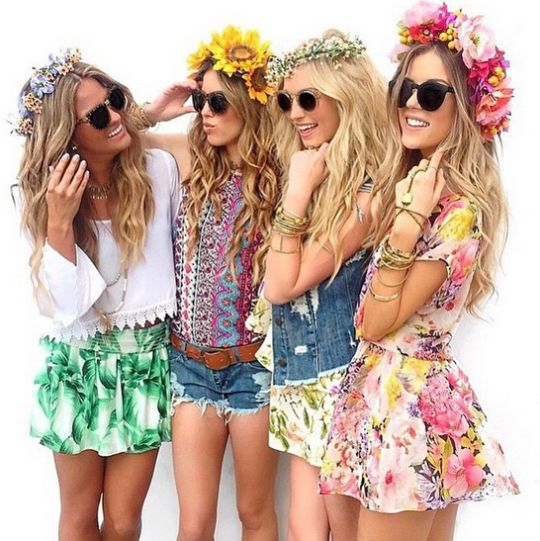How the Flower Crown Became the It-Accessory of Coachella