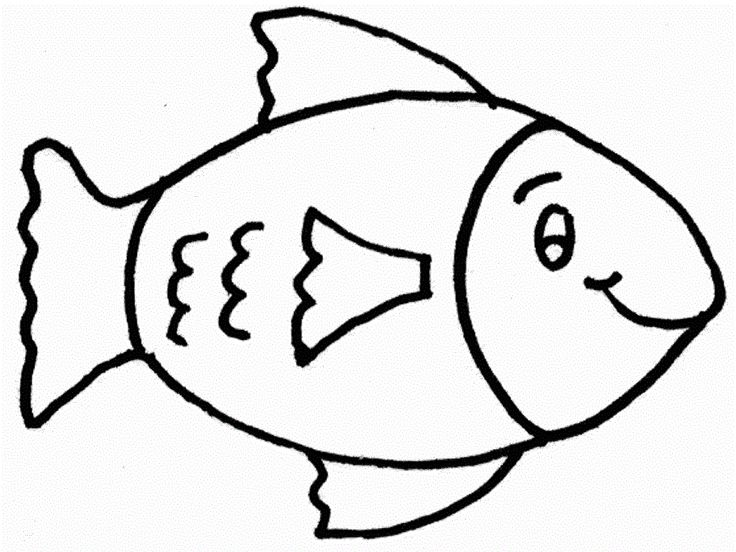 Fish With Body Shape Oval