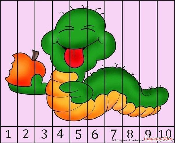девушка математические пазлы для малышей картинки этого кликните