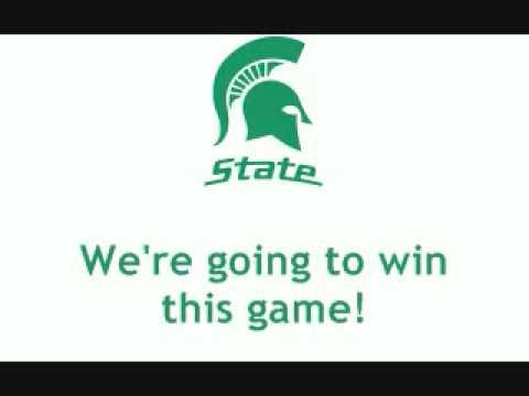 Michigan State University Spartans - fight song with words - Falcone Fight