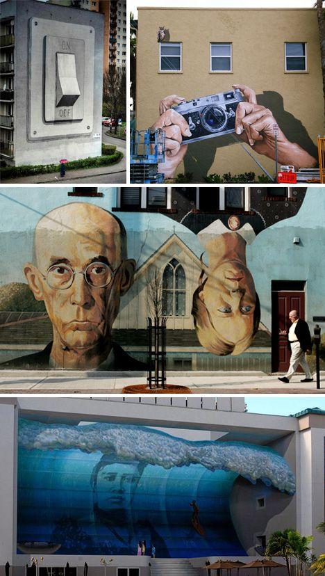 Urban Landscapes: Facades Transformed by murals - WebUrbanist