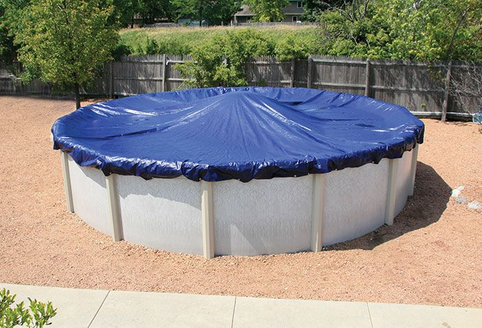 When Closing Above Ground Pools It S Always A Good Idea To Check Out The Pool Manufacturer S In In 2020 Winterize Above Ground Pool Winter Pool Covers In Ground Pools