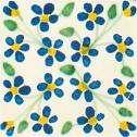 Bleues et jaunes pour un motif estival !