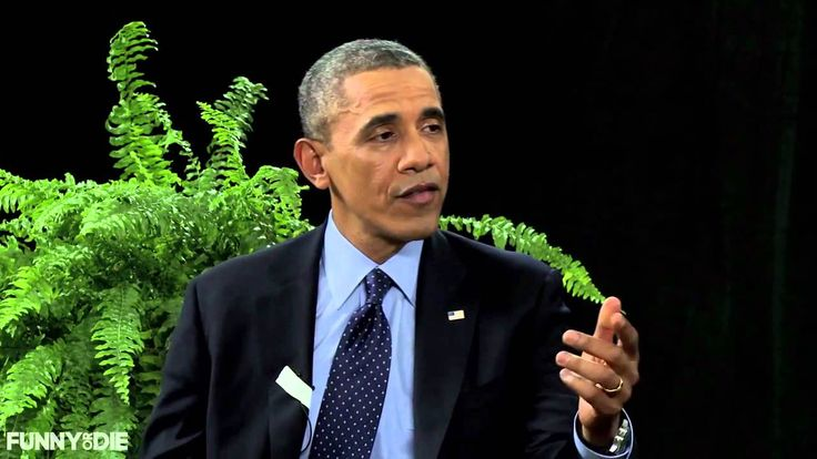"in case anyone hasn't seen this, it's...almost too much to watch. between two ferns, zach galifanakis ""interviewing"" president obama. it's hard to watch..haha."