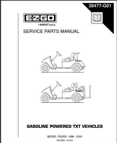 13 best golf cart images on pinterest golf carts electric and golf carts ideas ezgo 28477g01 19982000 service parts manual for gas txt golf car fandeluxe Images