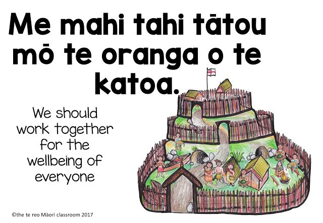 Some ways to use whakataukii in the classroom