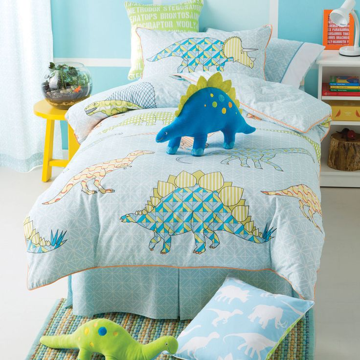 Dinosaur Twin Bed Set