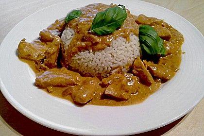 Curry-Geschnetzeltes (Rezept mit Bild) von Sommersonne | Chefkoch.de