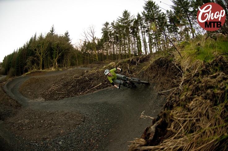 Afan Forest bike park. Picture by Jon Ashelford