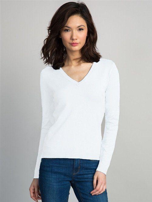 525 america classic v-neck sweater.