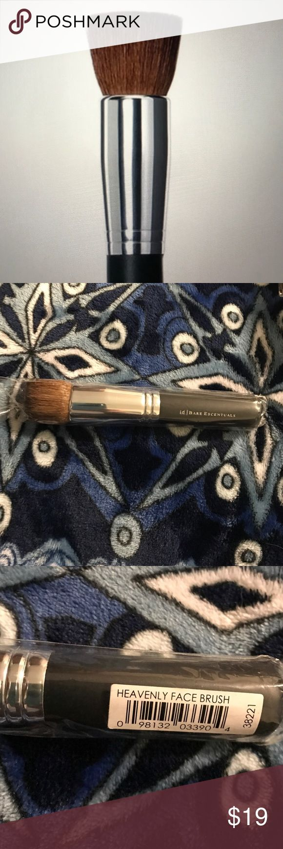 Heavenly Face Brush Brand new full-size! The brush is still sealed and has never been used. Medium to full coverage. Heavenly face brush by Bare Escentuals Bare Escentuals Makeup Brushes & Tools