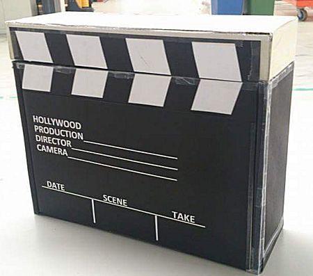Filmklapbord is een surprise voor een filmliefhebber