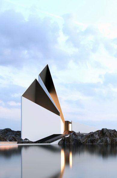 arquitectura conceptual de roman vlasov architecture architecture design and architecture layout. Black Bedroom Furniture Sets. Home Design Ideas