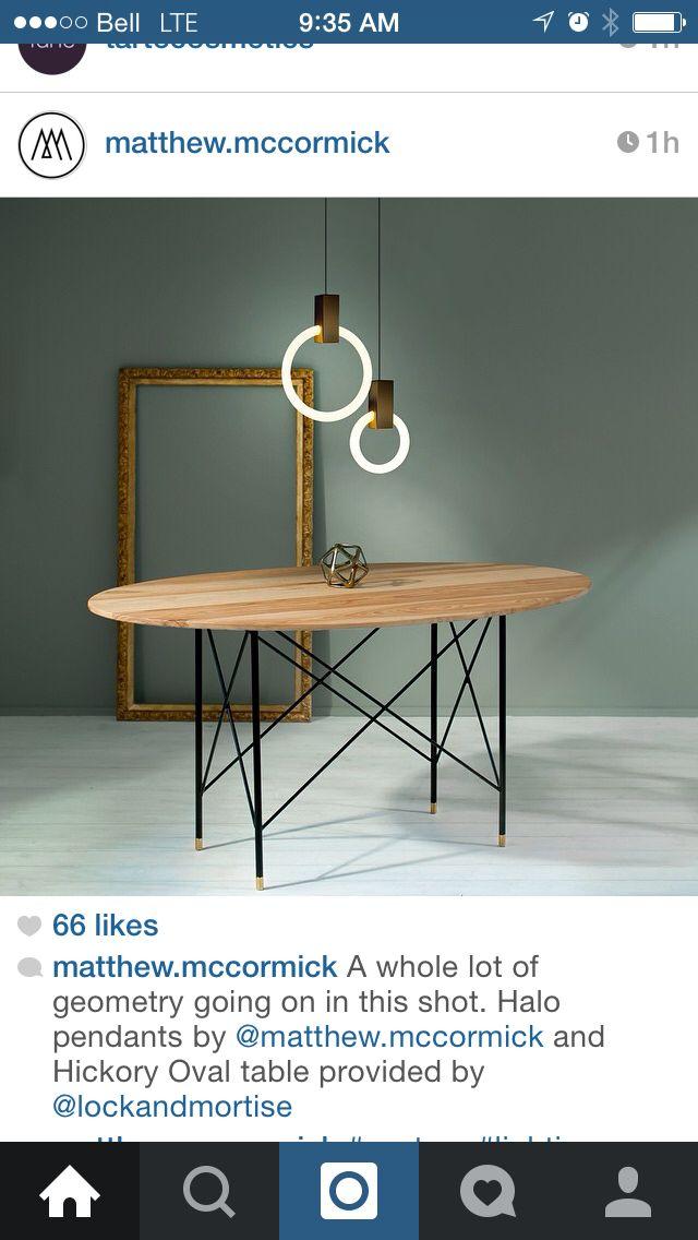 Aluminium Pendant Lamp HALO By Matthew McCormick Design Matthew McCormick