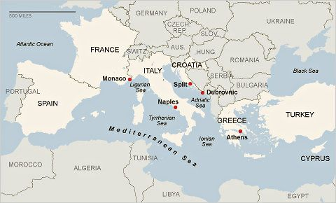 The Mediterranean on a Budget: The Voyage Begins - NYTimes.com