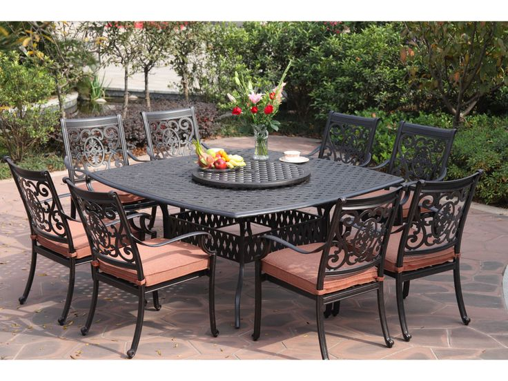 Awesome Costco Outdoor Furniture For Your Home Ideas: Alumunium Patio  Furniture For Outdoor Dining Room  Costco Patio Set
