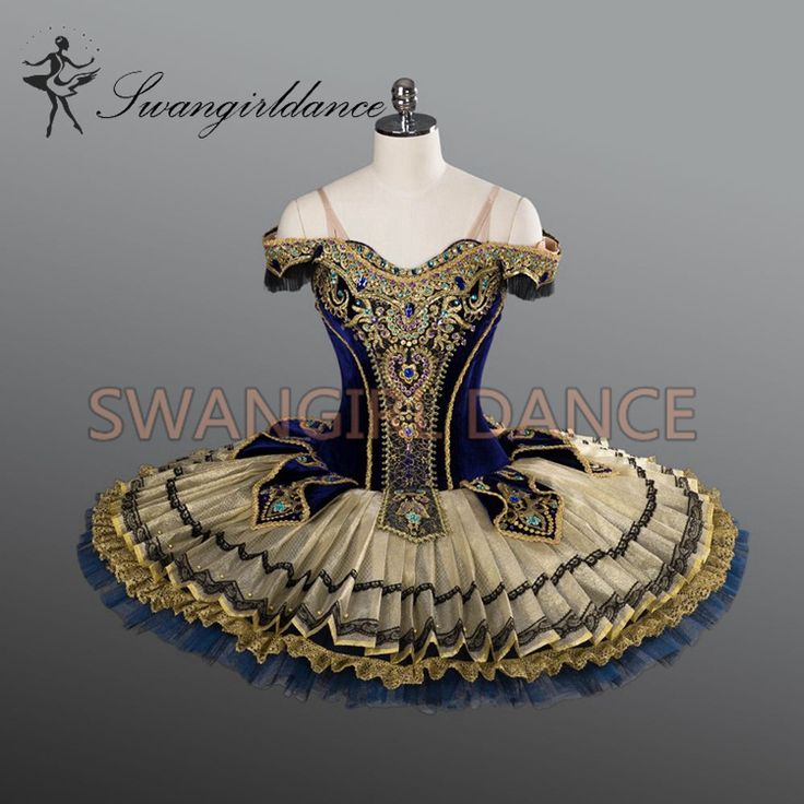 Cheap tutus girls, Buy Quality ballet tutus adults directly from China tutus dress Suppliers: high quality gold black velvet professional ballet tutus with Golden decoration pancake tutu BT9104