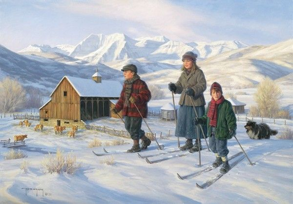 """""""Soldier Hollow - Limited Edition"""", by American artist - Robert Duncan (1952 - )"""