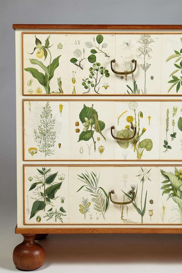 Flora, Chest of Drawers designed by Josef Frank for Svenskt Tenn, Sweden image 6
