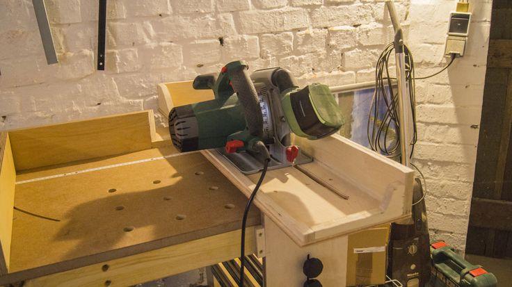 f hrungsschiene f r handkreiss ge bauanleitung zum selber bauen projekte s gen pinterest. Black Bedroom Furniture Sets. Home Design Ideas