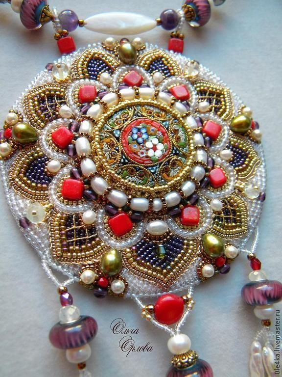 321 Best Images About Bead Embroidery On Pinterest