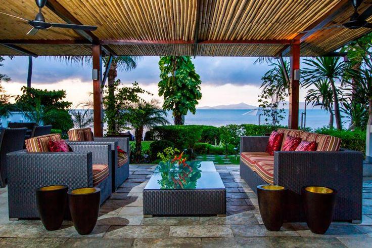Villa Banyan is a sensational five bedroom beachfront vacation home located in a tropical setting, 15Km from the Samui Airport. http://www.thesamuivillas.com/villa/villa-banyan-koh-samui/