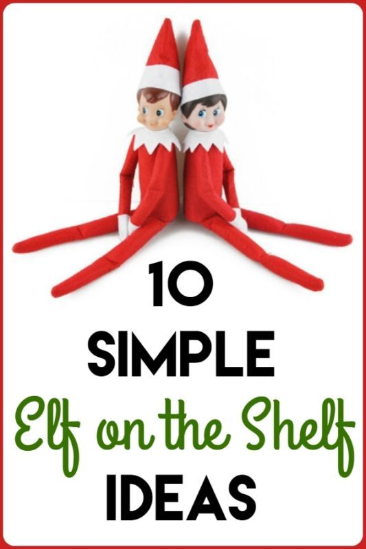 10 Simple Elf on the Shelf Ideas | eBay