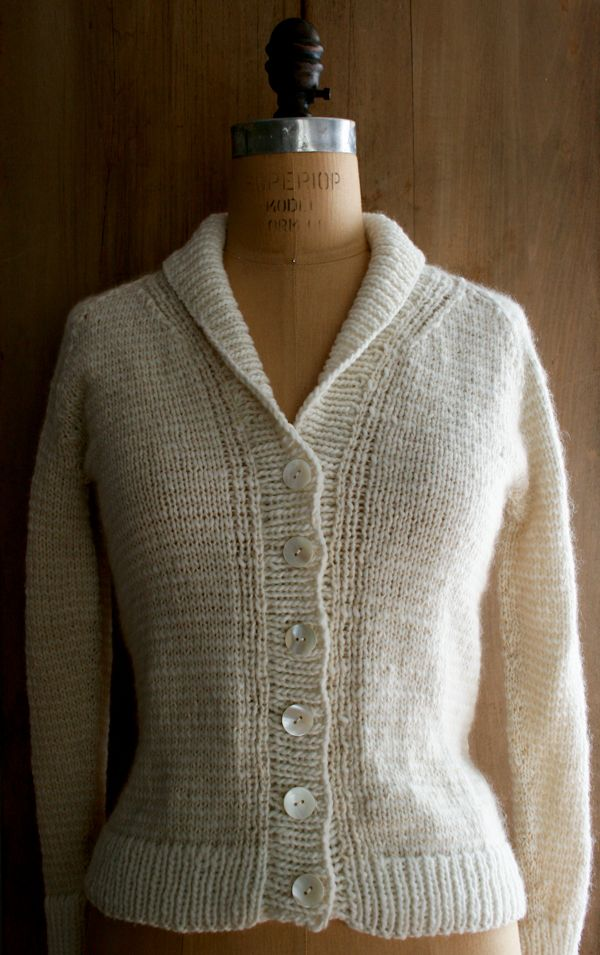 New Treeline Striped Cardigan - Purl Soho - Knitting Crochet Sewing Embroidery Crafts Patterns and Ideas!