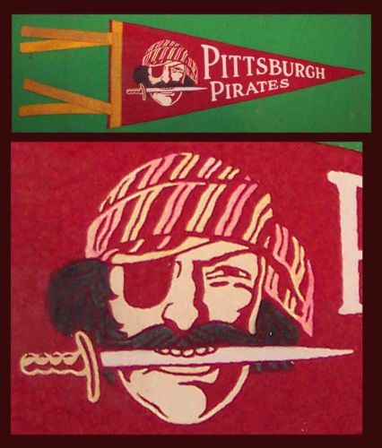 1950s OLD-1950-s-Pittsburgh-Pirates-Baseball-Pennant-NICE