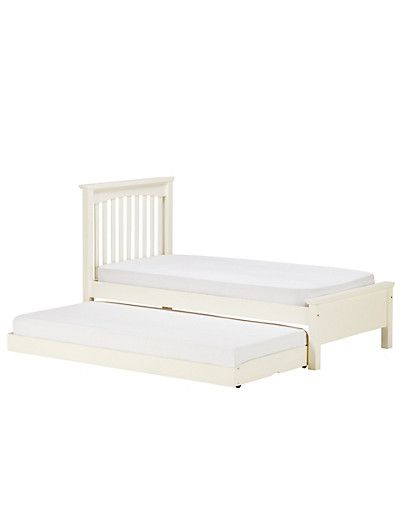 White 'guest' bed - £329