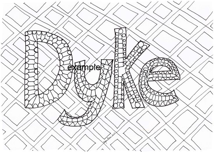 Dyke, LGBTIAPQ, Adult Colouring in by ArachneArt on Etsy