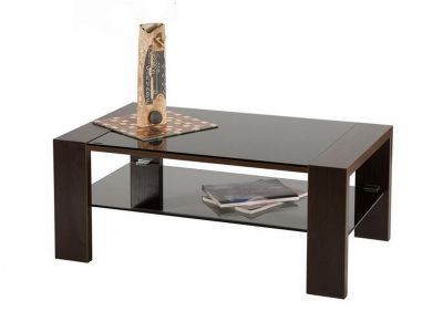 Журнальные столы из дерева и стекла - купить в Москве у производителя. Сделаем на заказ!