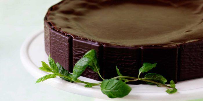 Mintchokladtårta med After Eight