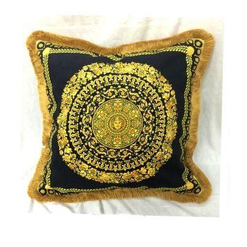 Wholesale Pillowcases Tassels Design Colorful Body Pillows Square Decorative Pillow