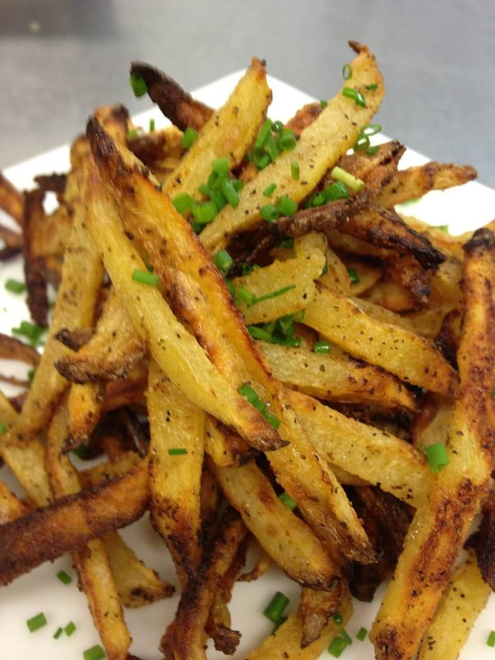Healthy Baked Herbed Potato Fries from FitnessRidge.com