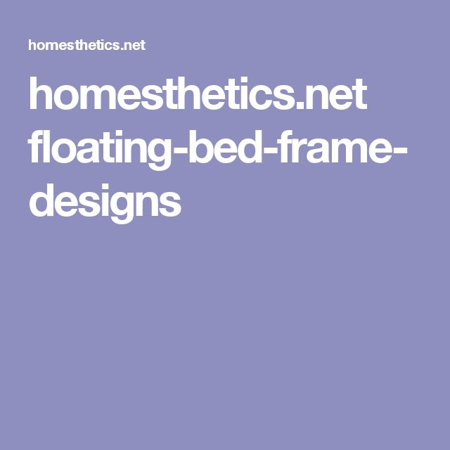 Sad Boy Alone Quotes: 1000+ Ideas About Floating Bed Frame On Pinterest