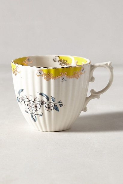 Nature Table Teacup #anthrofave #anthropologie