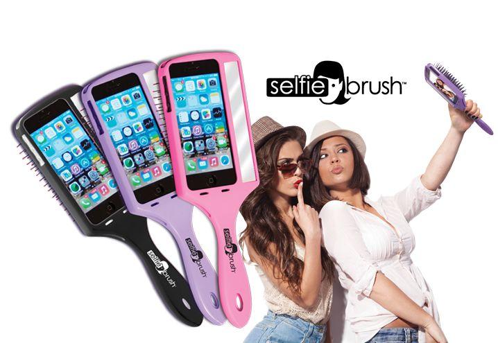 Selfie Brush – prima perie pentru par care te ajuta sa-ti faci selfie-uri