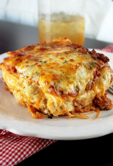 This Cajun lasagna combines Andouille sausage, Creole seasoning, and five different types of cheese.  Get the recipe from Creole Contessa.   - Delish.com
