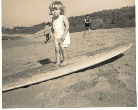 Surfing in the early days