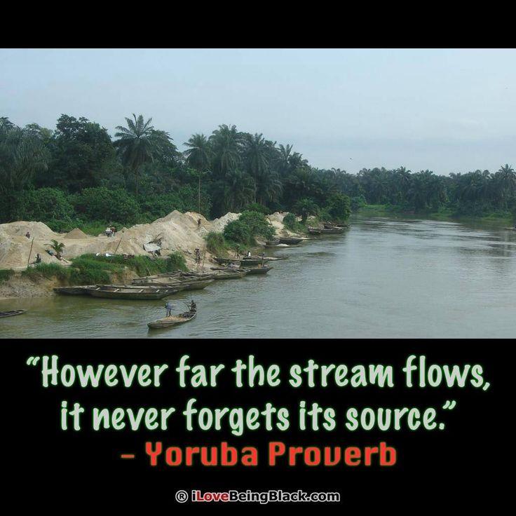 Yoruba Proverb