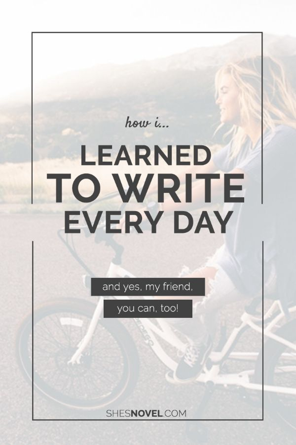"A Better Approach to ""Write Every Day"""