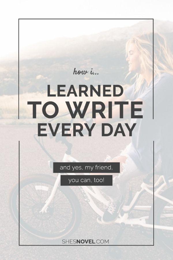 Write *Something* Every Day