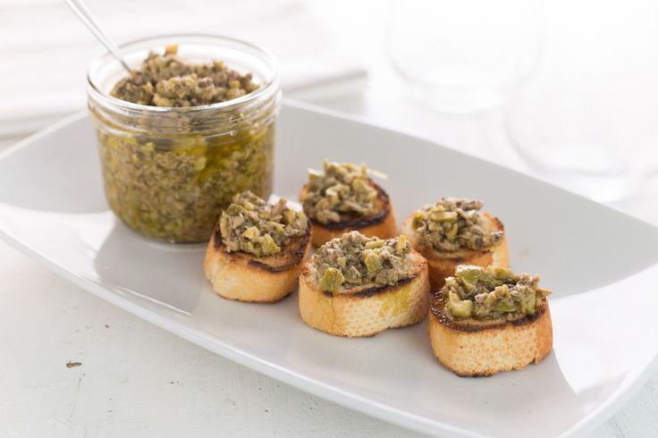 Crema di olive ricetta